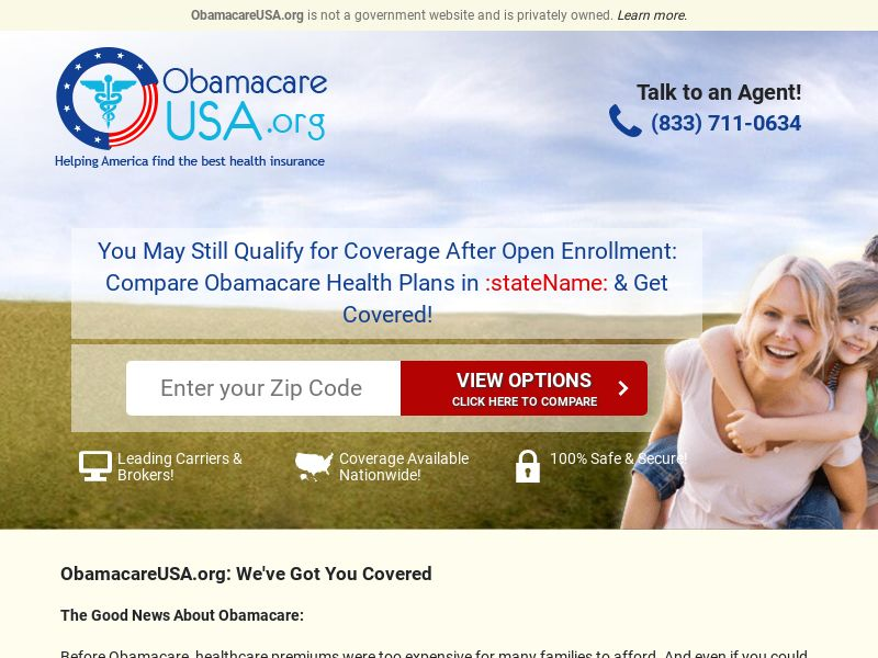 ObamacareUSA [EMAIL] [INSURANCE] - CPL - US [REQUIRES SPECIAL APPROVAL]