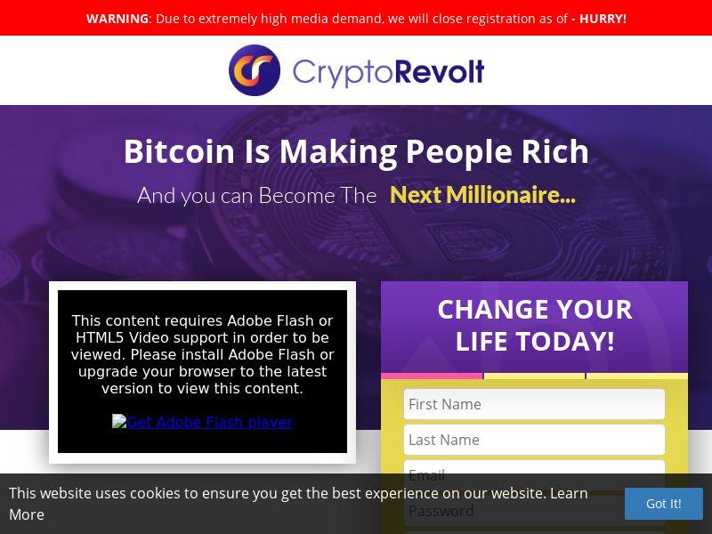 Crypto Revolt (HK) (CPS)