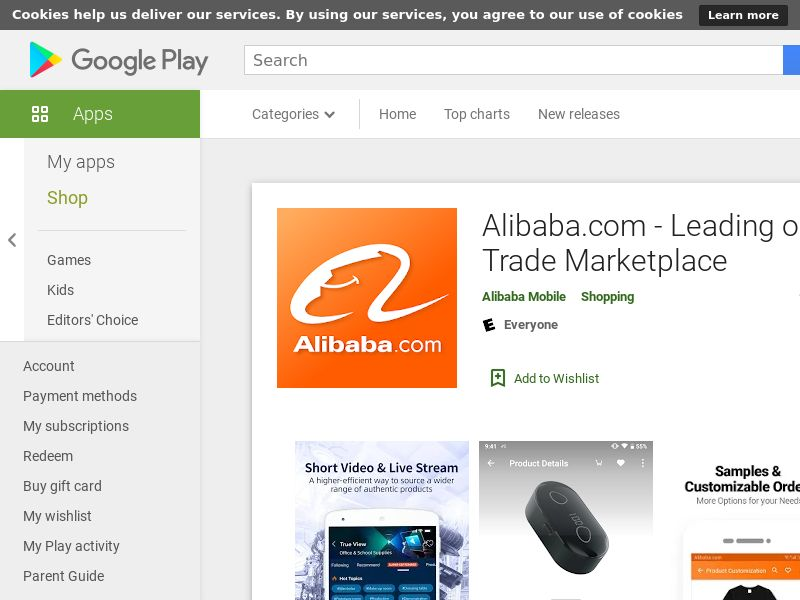 WW-Android-Alibaba.com Homepage(CPS)(Direct) [s2s]