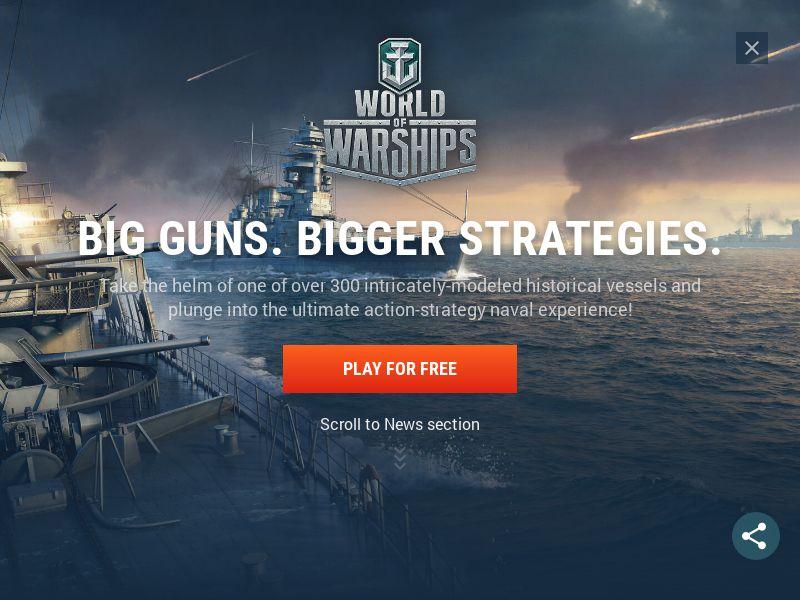 World of Warship - DOI - BE/FR