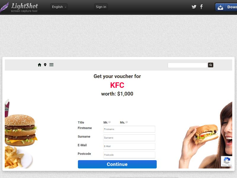 Shiok Rewards – KFC (Sweepstake) (SOI) - Singapore