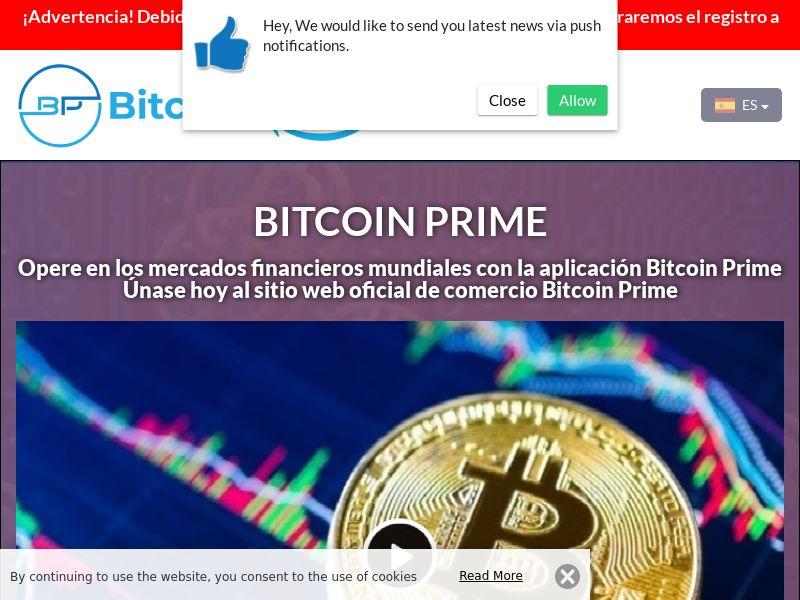 Bitcoin Prime Spanish 2598