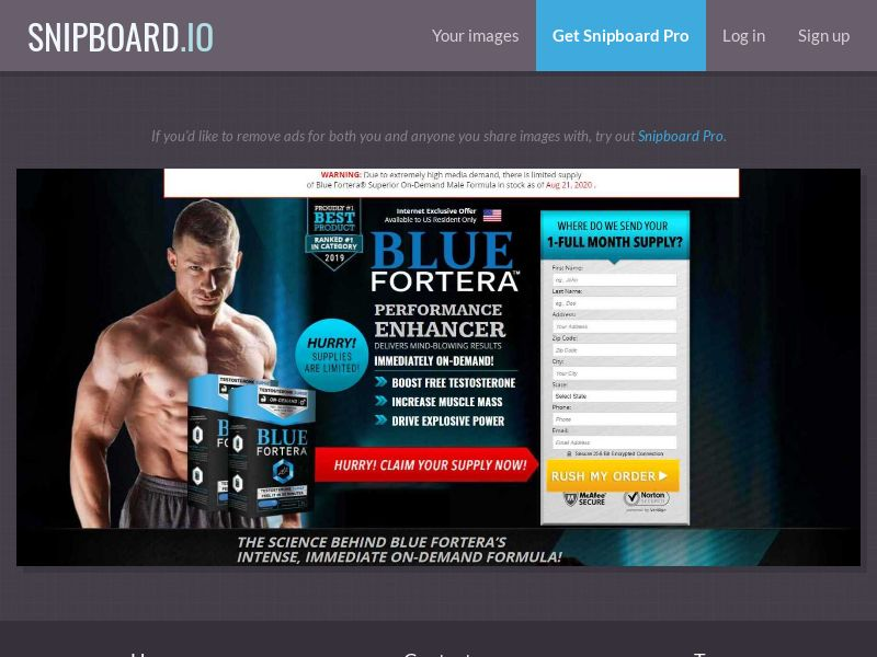 37923 - US - Nutra - Muscle offer (cap 100 per day) - SS