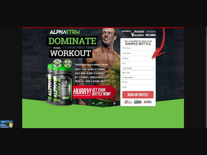 Alpha XTRM - Muscle Building - Trial - [US]