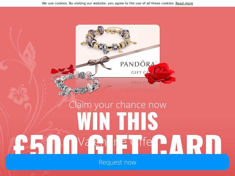 Valentine Pandora Gift - UK