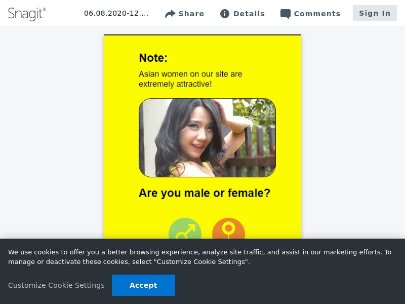 Date Asian Woman [WEB] SOI   US,UK,CA,AU,NZ