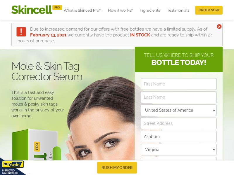 Skincell Pro (US, CA, IE)