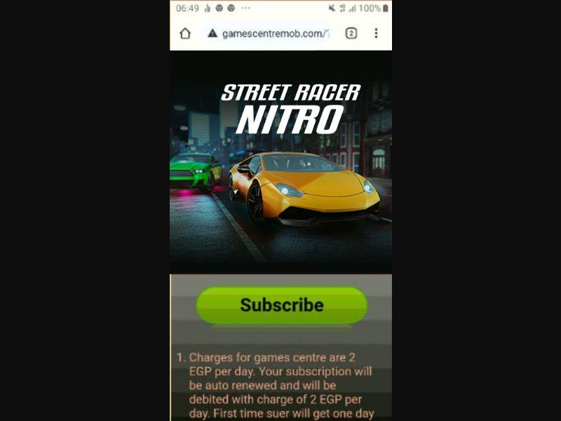 Street Racer Nitro (EG)