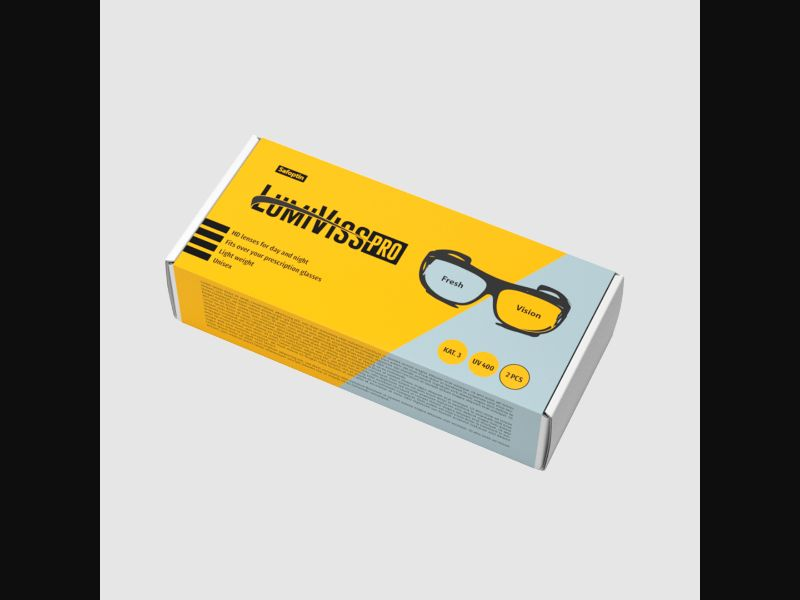 LUMIVISS PRO - eyes - specialized glasses - COD / SS - new creative available – BE – CPA