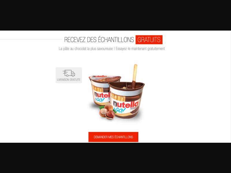 Nutella Go - CPL SOI - FR - Sweepstakes - Responsive