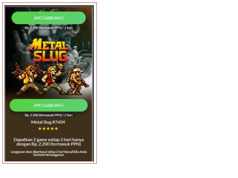 Metal Slug Smartfren