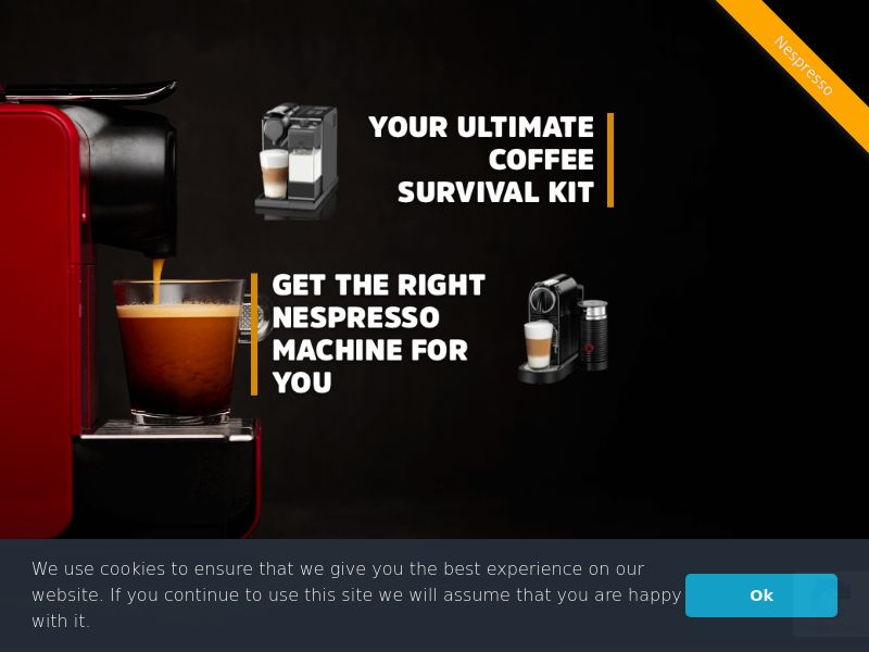 Nespresso - UK (GB), [CPL], Lotteries and Contests, Single Opt-In, paypal, survey, gift, gift card, free, amazon