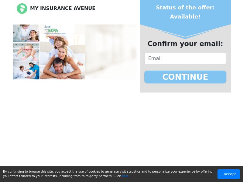 MyInsuranceAvenue - Health - First Page - CPL - US