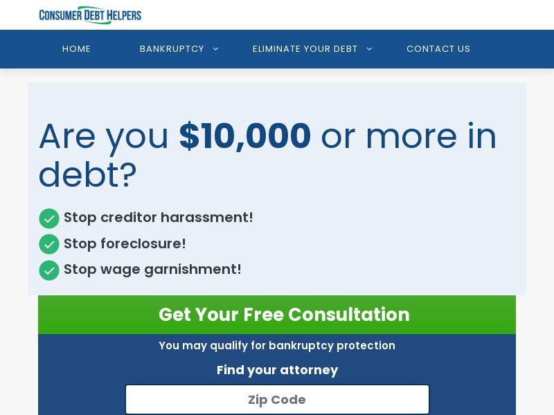 Consumer Debt Helpers - CPL - US