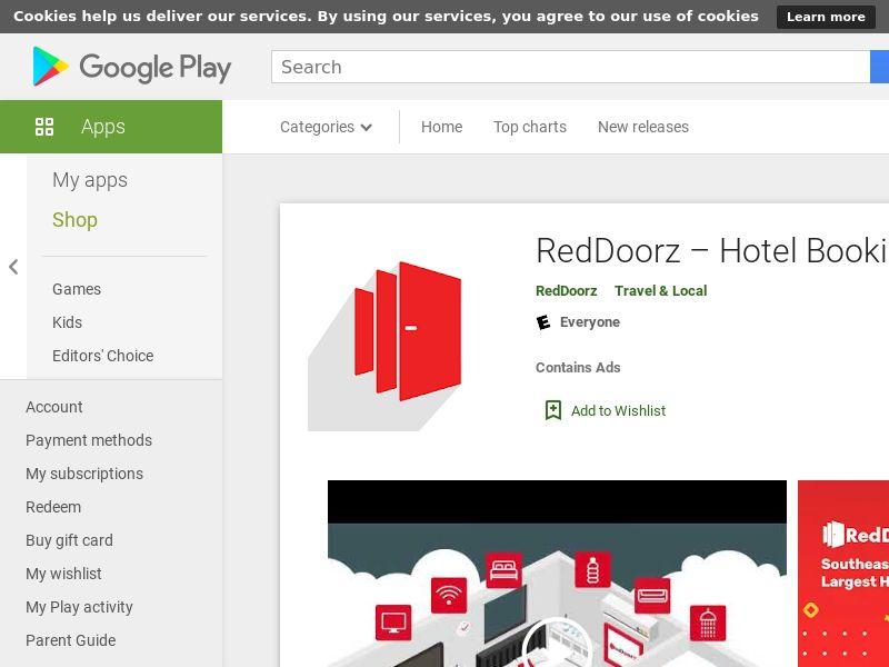 VN - RedDoorz – Hotel Booking App - - (SCAPI)