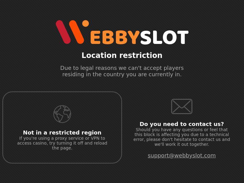 WebbySlot - CA, DE, NZ