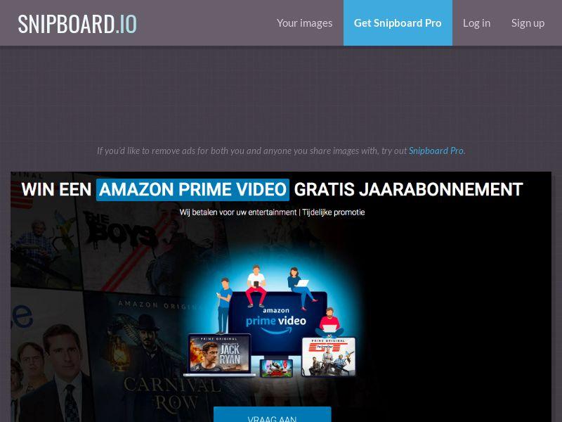 LeadsWinner - Amazon Prime Video BE - SOI *dutch speaking*