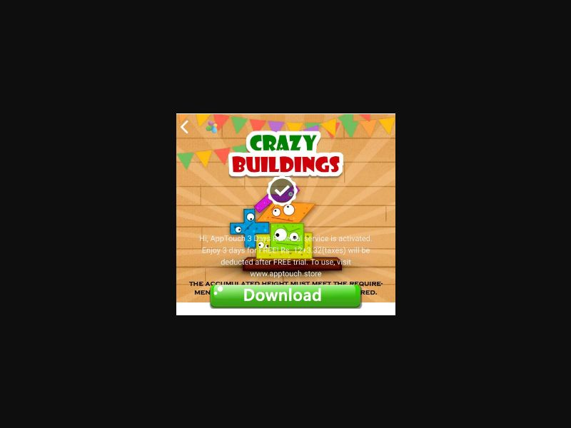 NP Crazy Buildings [NP] - 1 click