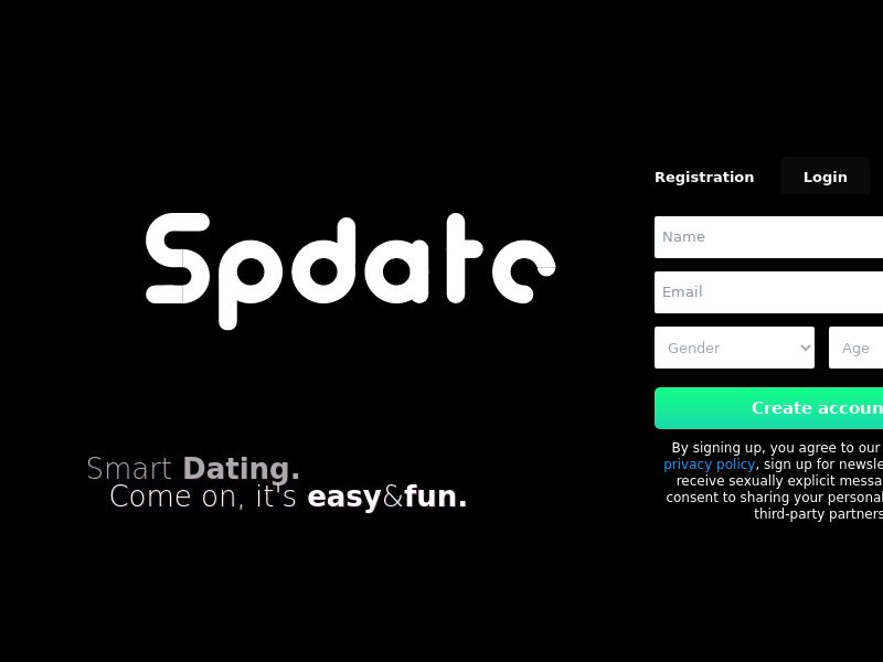 Spdate - CA, US, UK, AU (AU,CA,GB,US), [CPL], For Adult, Dating, Content +18, Single Opt-In, women, date, sex, sexy, tinder, flirt