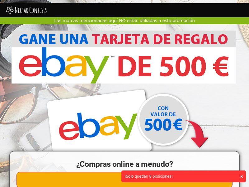 Ebay Gift Card - ES (ES), [CPL]