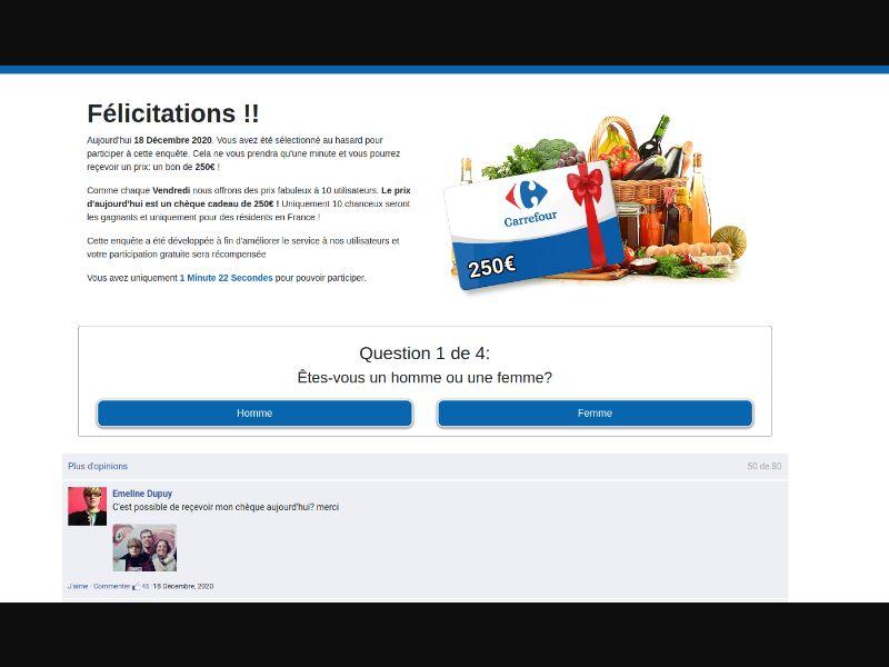 Carrefour FR with Prelander [FR] - SOI registration