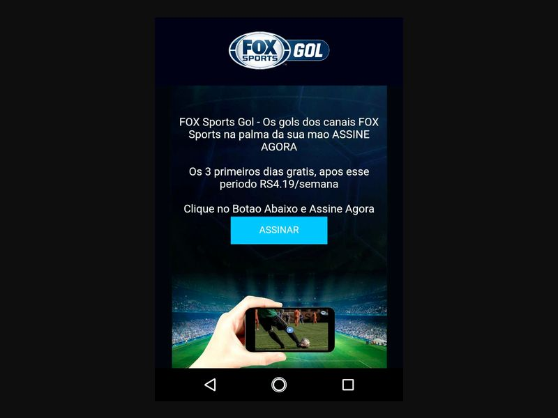 BR - Fox Sports (TIM only) [BR] - 2 click