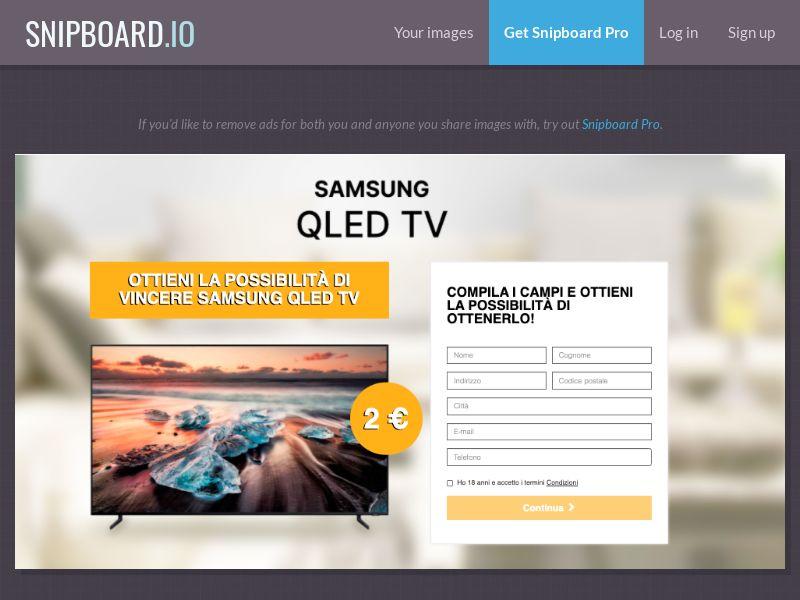 37216 - IT - BigEntry - Samsung QLED TV v1 - CC submit