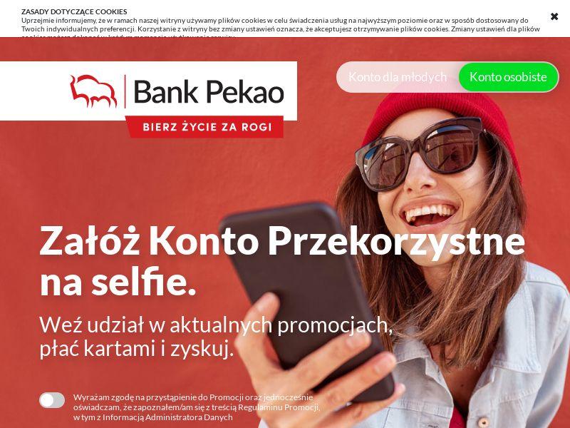 Bank Pekao - Konto Przekorzystne z Kartą Rewolucyjną (PL), [CPA], Business, Account, Personal account, Open bank account, bank, finance
