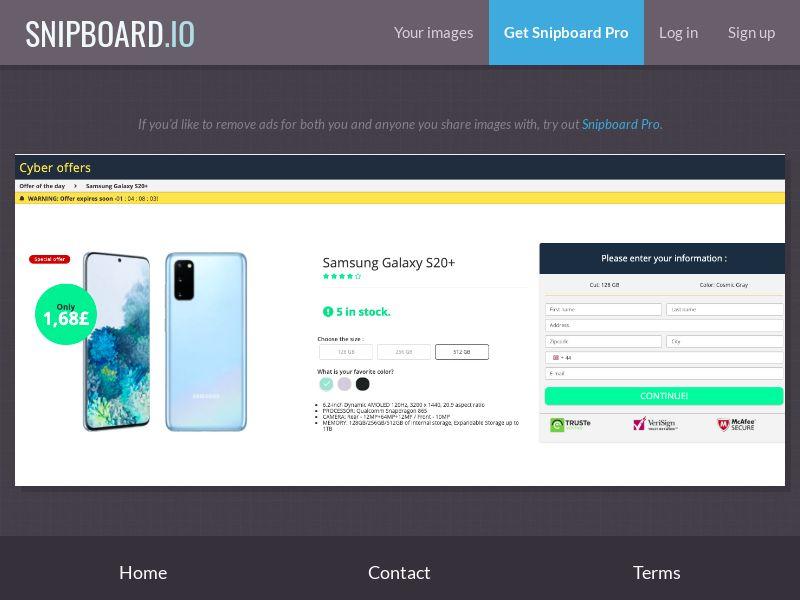 37653 - UK - G33K Premium - Samsung Galaxy S20 (Amazon) - CC submit