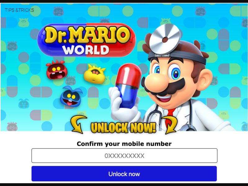 Dr Mario World (ZA)