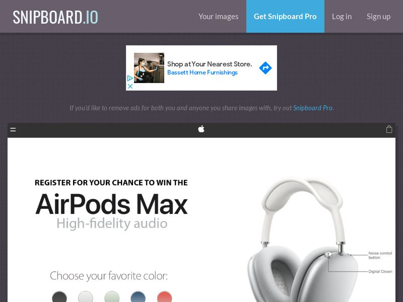 NectarContests - AirPods Max NL - SOI