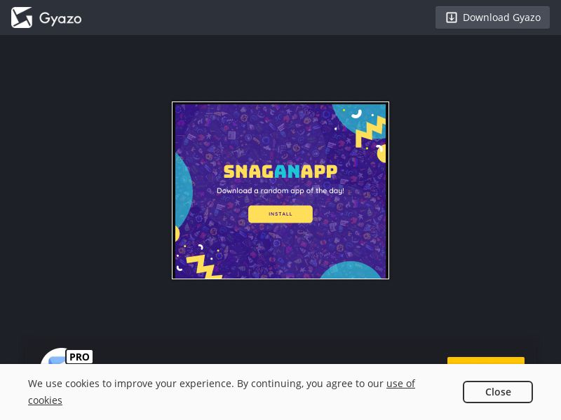SnagAnApp: App of The Day - iOS (KR) (CPI) (Incent)