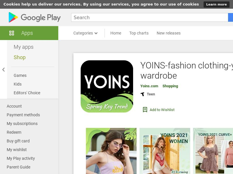 YOINS - Women's Fashion Clothing Android US CPA