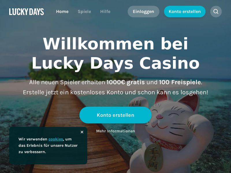 LuckyDays.com CPA - DE ,NO & NL
