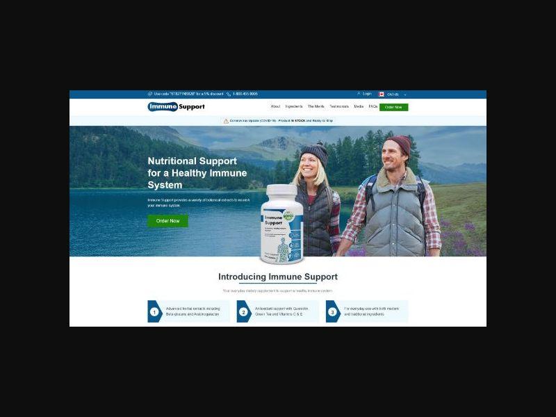 Immune Support Supplement (US,CA)