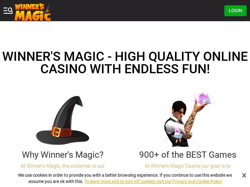 Winnersmagic.com - SOI - CPL - CA/NL/FI