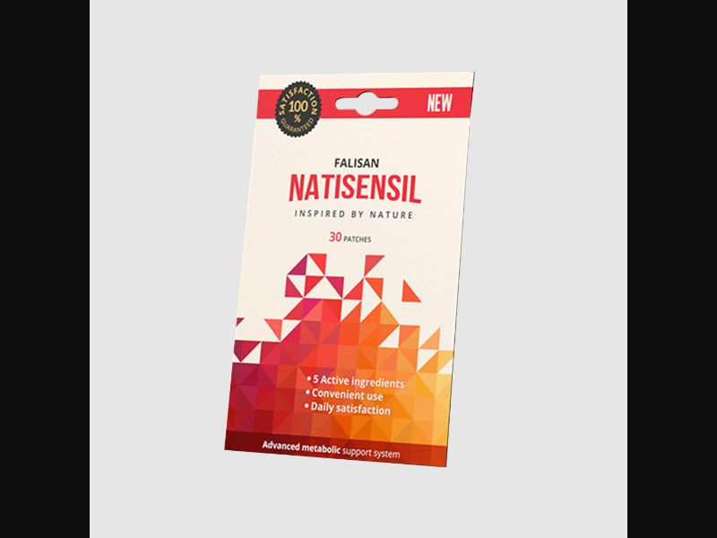 NATISENSIL – NO – CPA – weight loss – patches - COD / SS - new creative available
