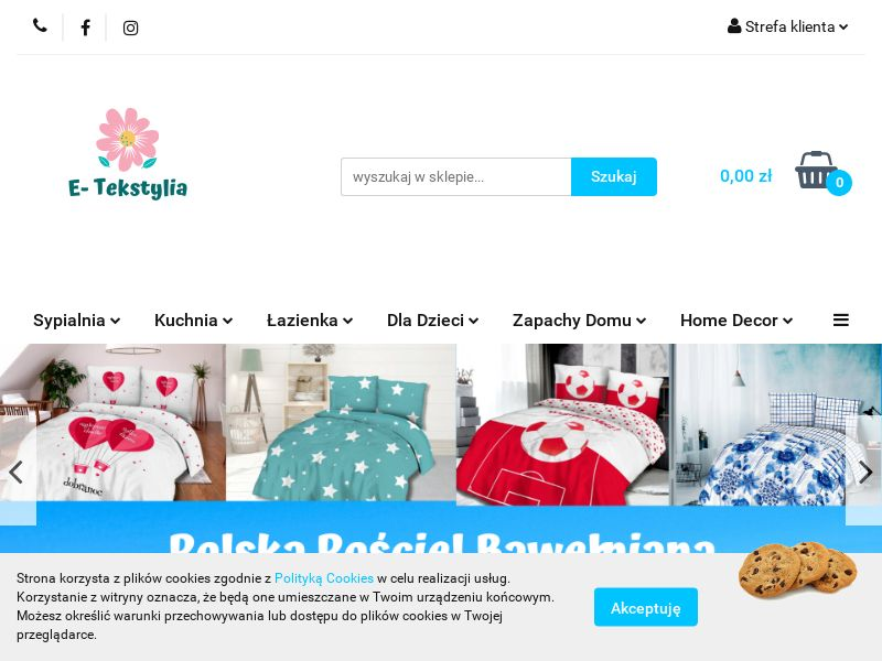 E-tekstylia - PL (PL), [CPS], House and Garden, Home decoration, Sell, shop, gift