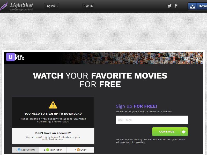 UltraFlix Default Black VOD (Streaming) (CC Trial) - Australia [AU]