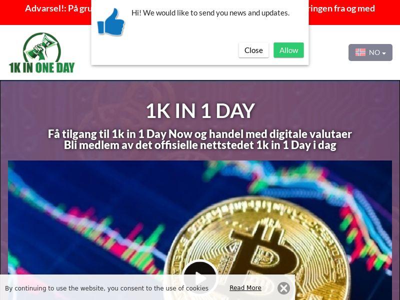 1k in 1 Day Norwegian 3705