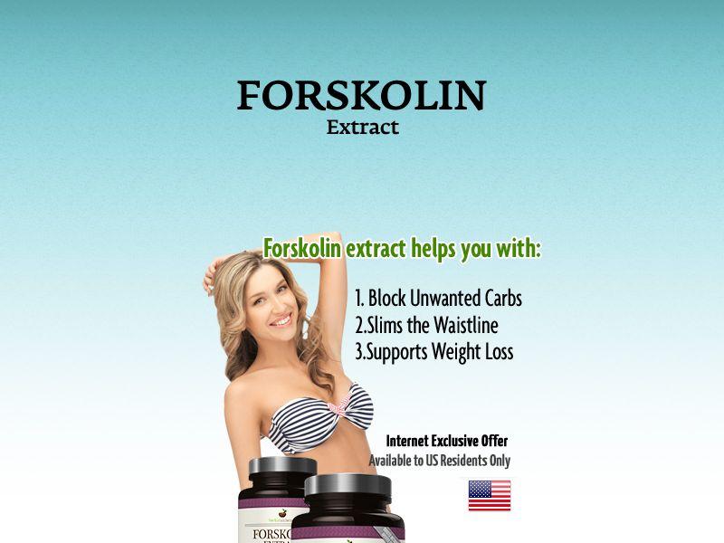 Health - Forskolin Extract pills - SS (CA,US)
