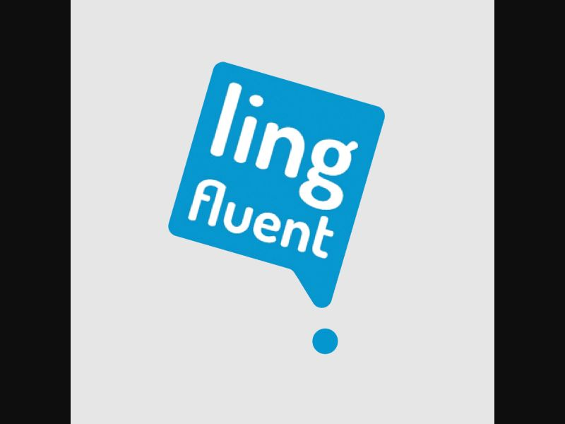 LING FLUENT NEW – AE – CPA – language learning – online training course - COD / SS - new creative available