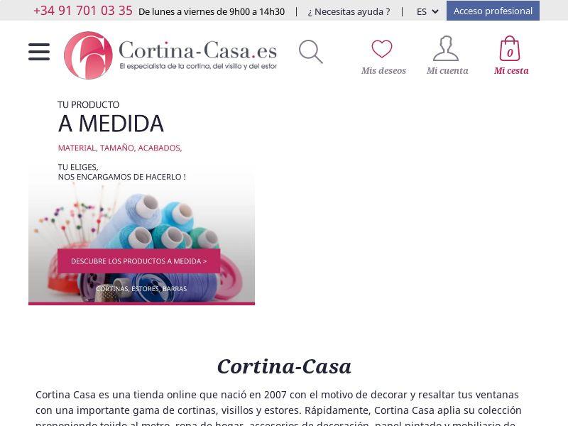 Cortina Casa - ES (ES), [CPS]