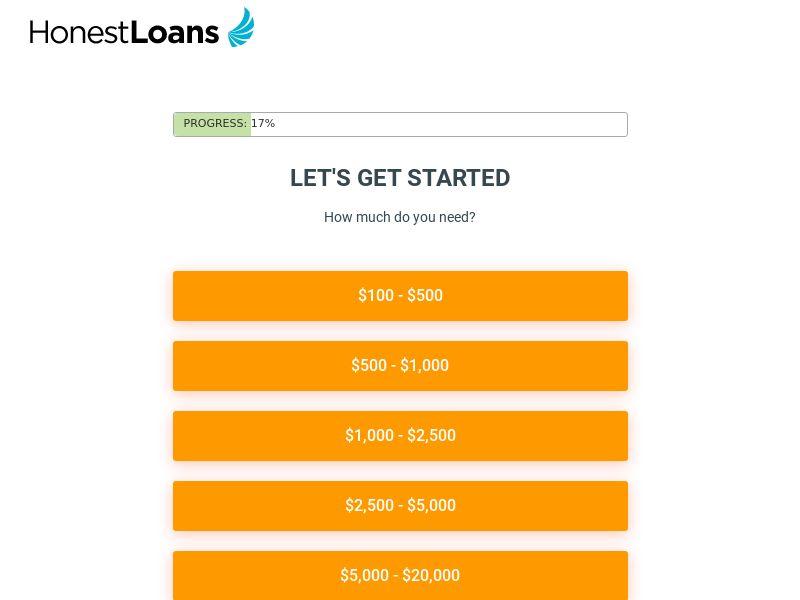 Honest Loans - RevShare