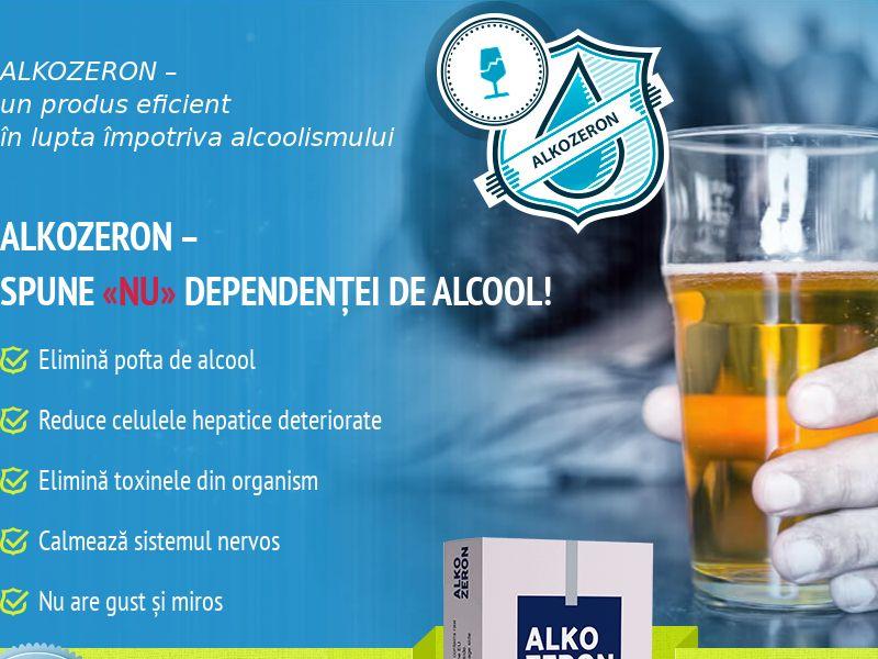 Alkozeron RO - alcoholism treatment product