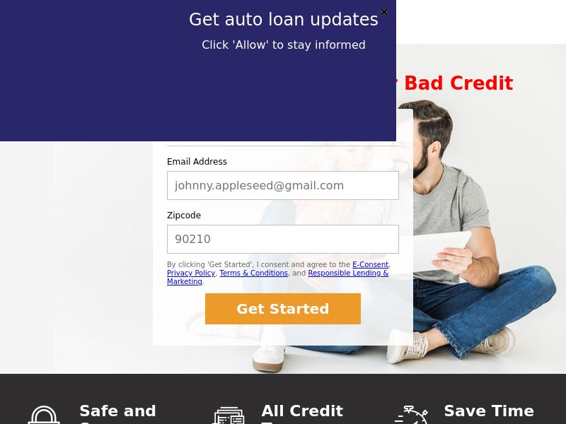 MegaCarLoans (US) (CPL) (Personal Approval)