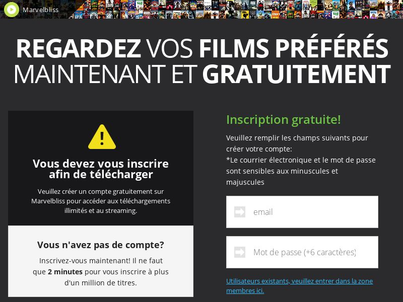 AdCenter Movies (FR) - CPA, Free Trial, CC Submit, Multi-Geo