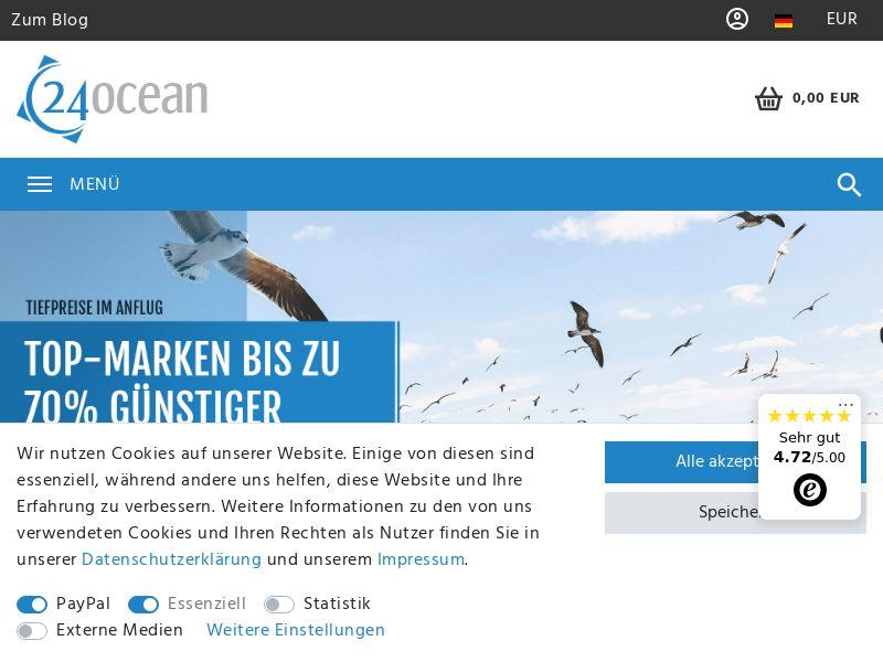 24Ocean - DE (DE), [CPS], Sport & Hobby, Sell