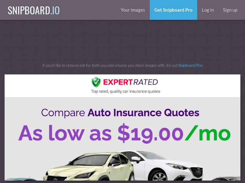 Insurance - ExpertRated Car Insurance [Monday - Friday / 08:00 - 17:30 EST] US - SOI