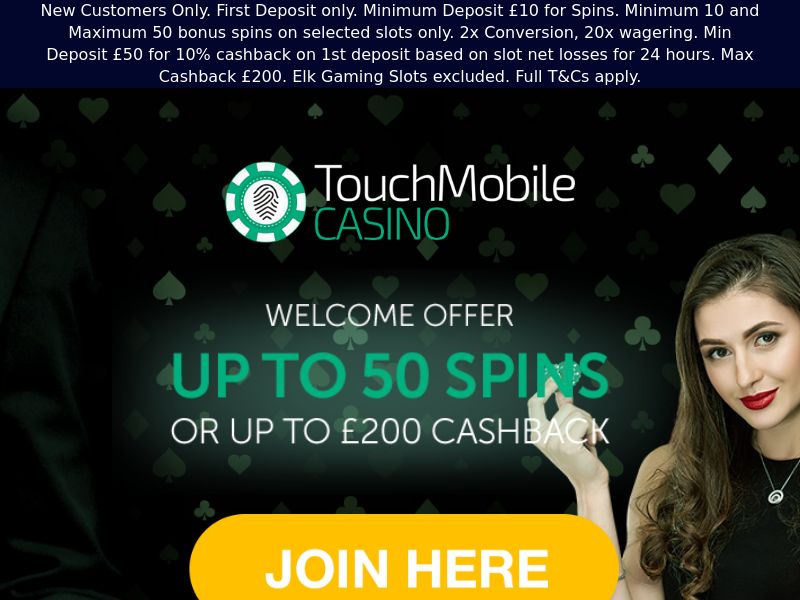 Touch Mobile Casino - CPA [UK]